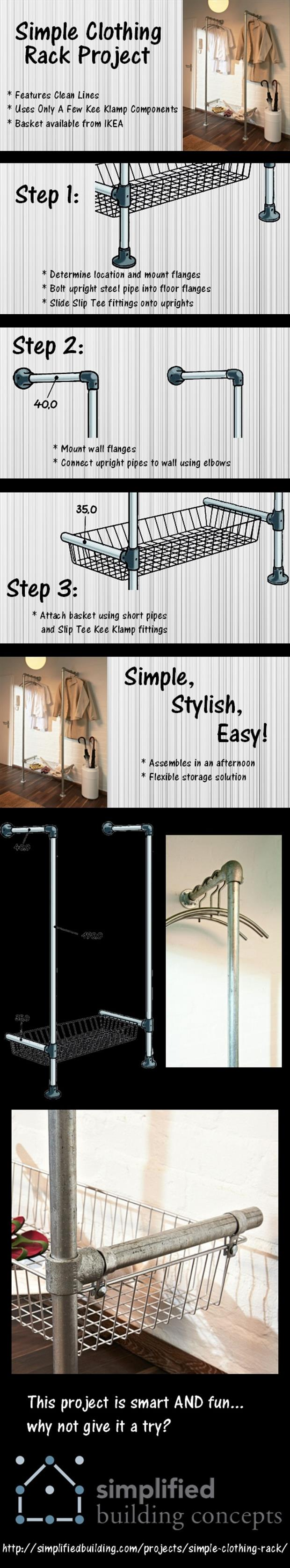 do it yourself home projects closet