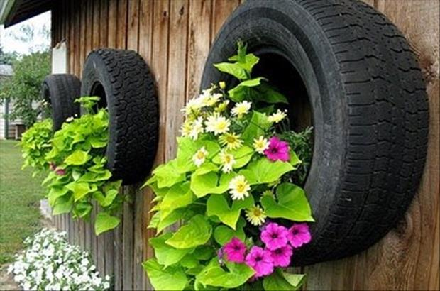 do it yourself projects using old tires, dumpaday (15)