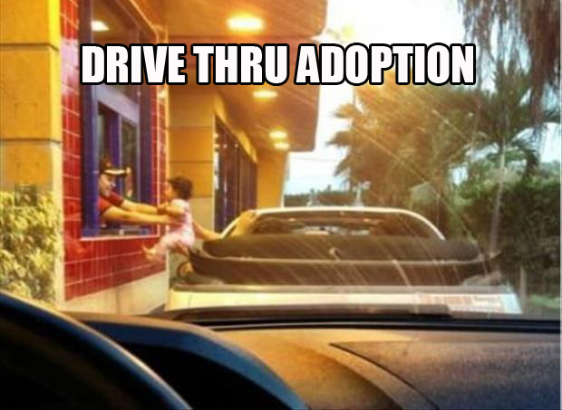 drive through adoption