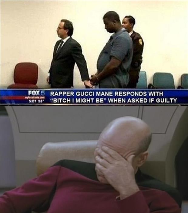 facepalm in courtroom