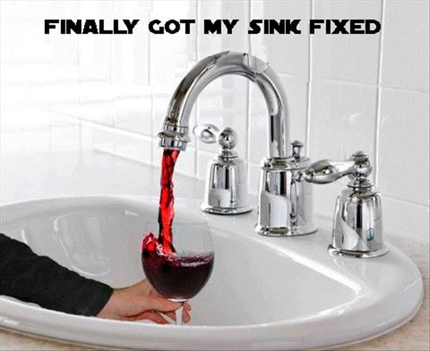 finally got my sink fixed