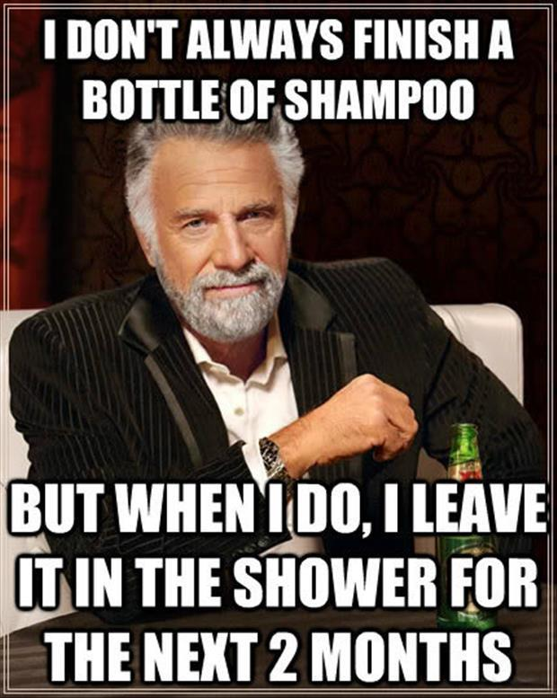 finishing shampoo