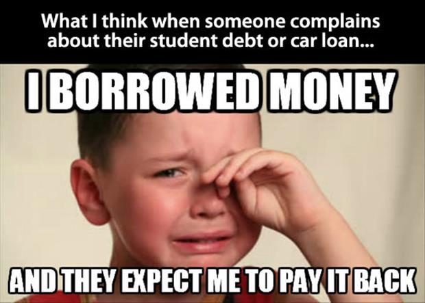 first world student problems