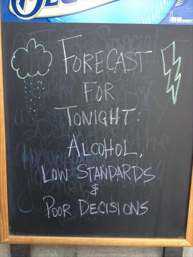 forcast for tonight