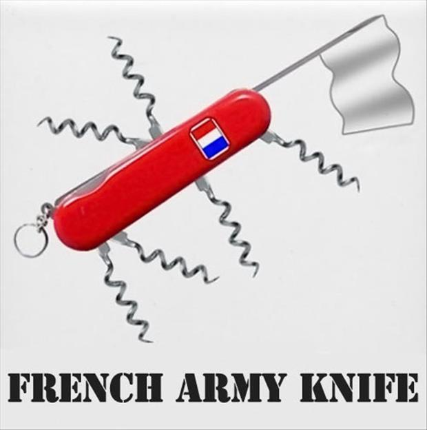 french army knife