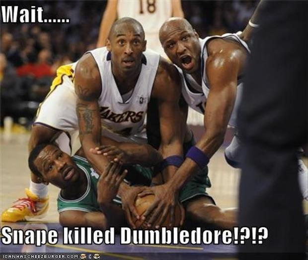 funny basketball players