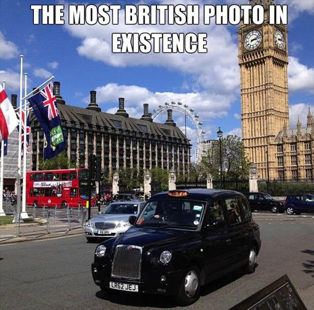 Funny british photo