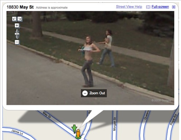 funny google map pictures, dumpaday (1)