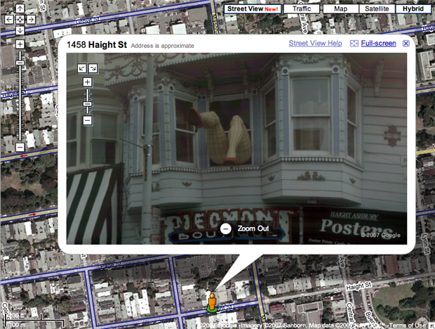 funny google map pictures, dumpaday (2)