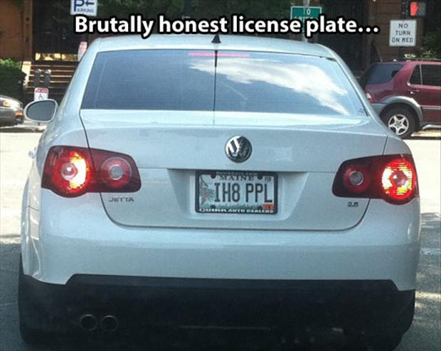 funny license people