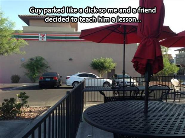 funny pictures bad parking
