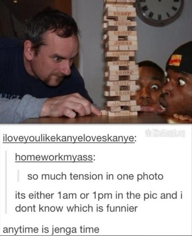 funny pictures jenga