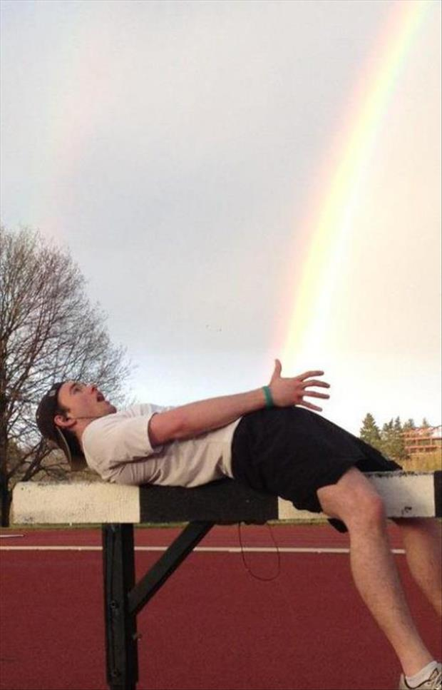 funny pictures of rainbows and guys, dumpaday (2)