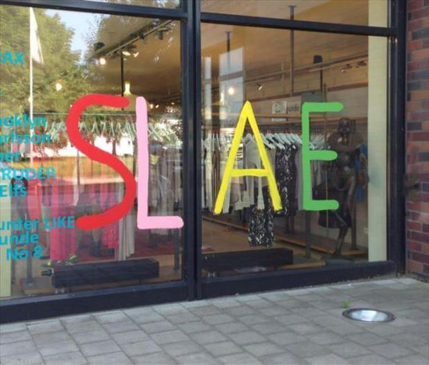 funny sale signs