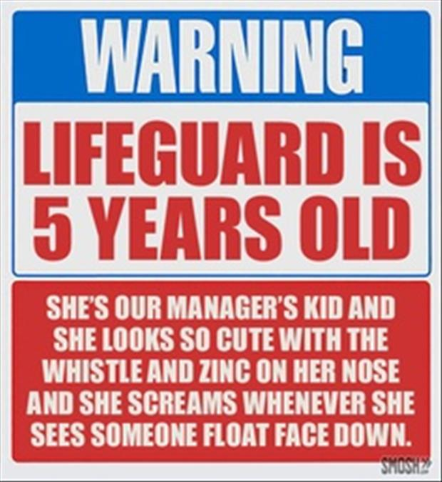 funny warning signs  Dump A Day