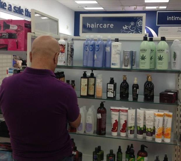 hair care products for bald man