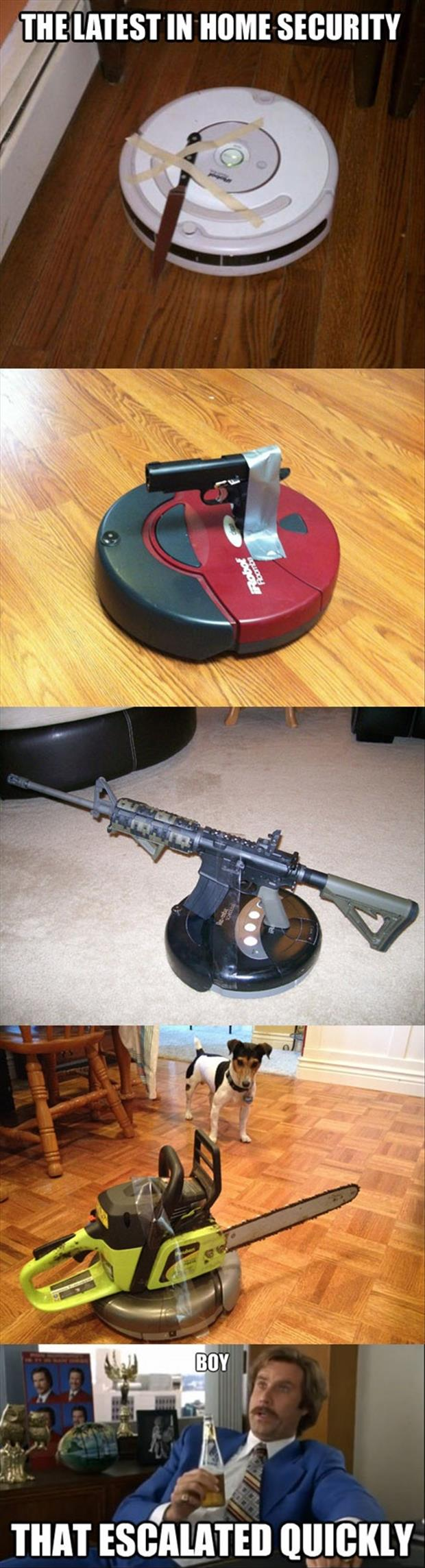 home security that escalated quickly