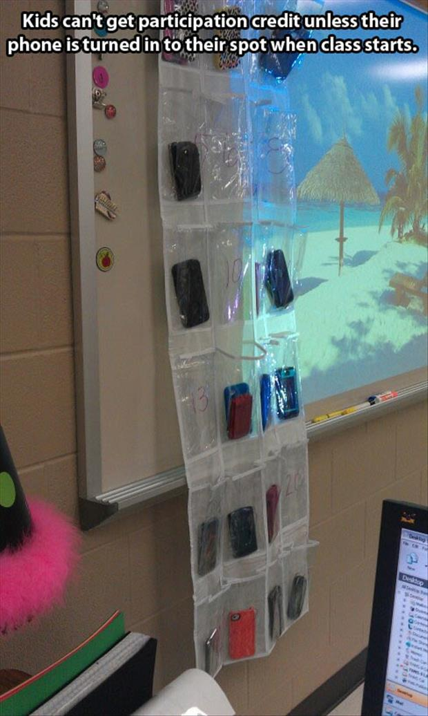 how teachers deal with cell phones