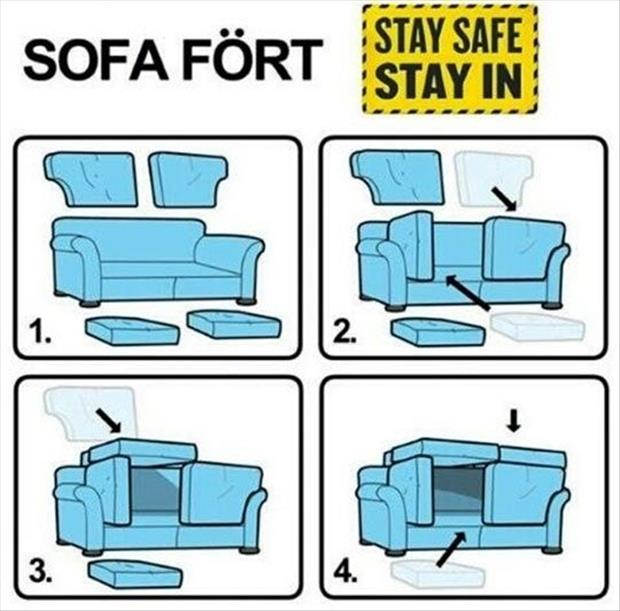 how to build a fort for kids