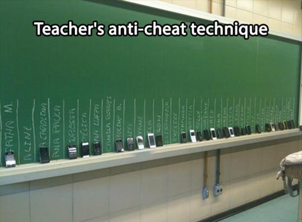 how to keep kids from cheating