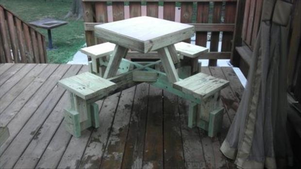 how to make a floating picnic table (24)