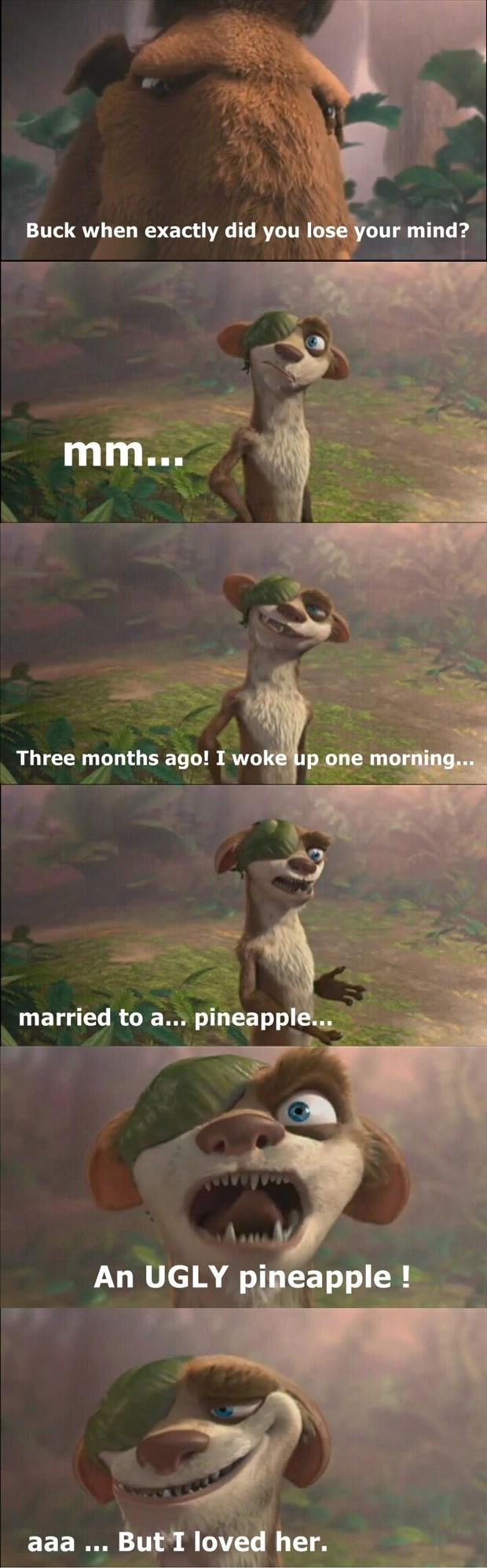 ice age buck funny quotes
