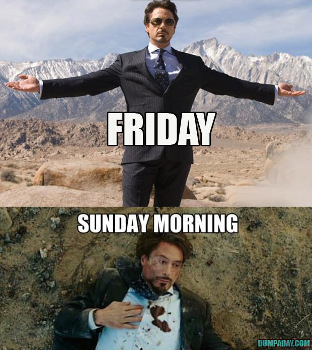 it's friday tony stark