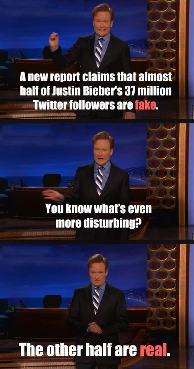 justin bieber twitter followers
