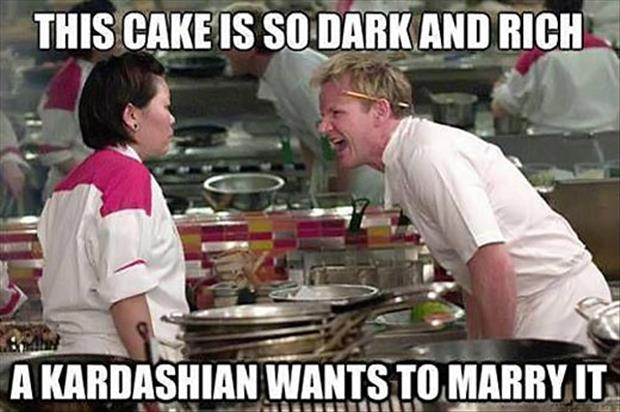 kardashian wedding gordan ramsay meme