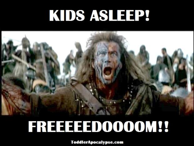 kids are alseep