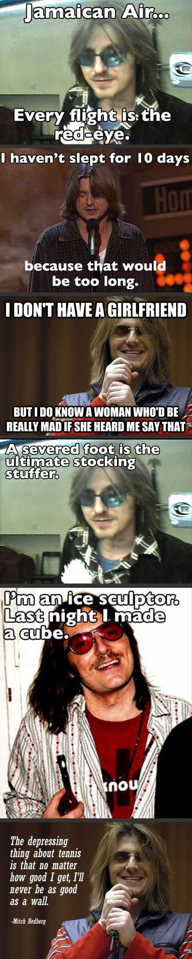 mitch hedberg quotes