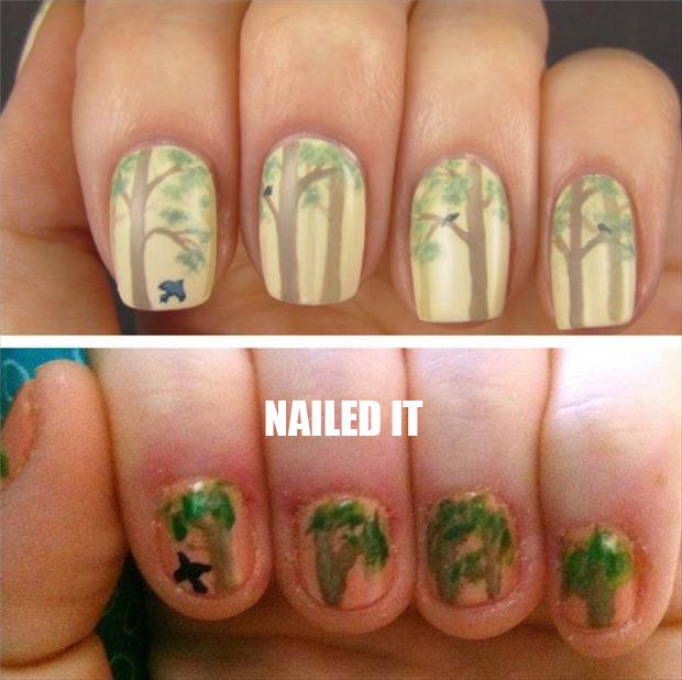 nailed it fingernails