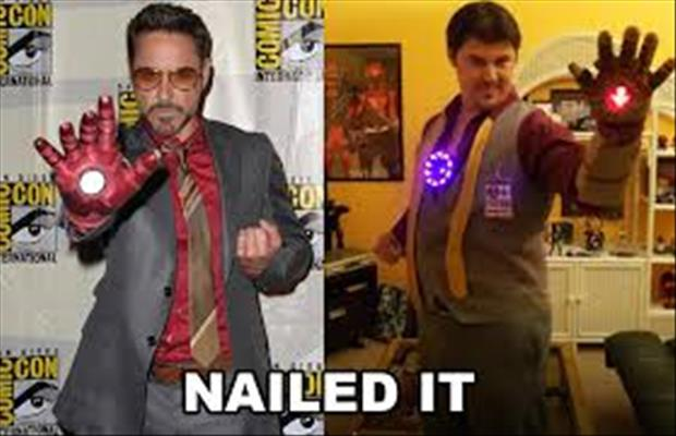 nailed it iron man
