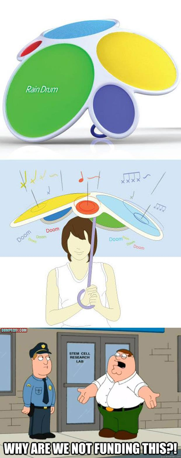 rain drum why are we not funding this