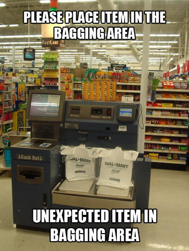 self checkout funny pictures