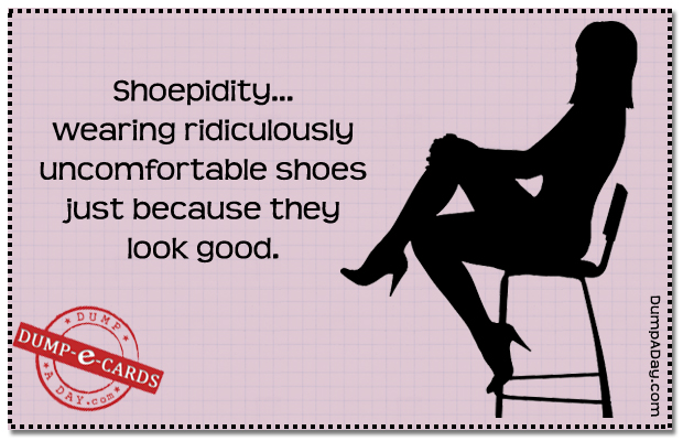 shoepidity Dump-E-Card