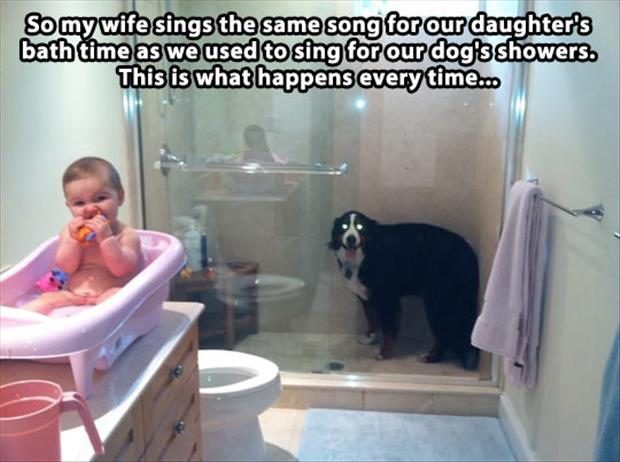 sing a song in the shower