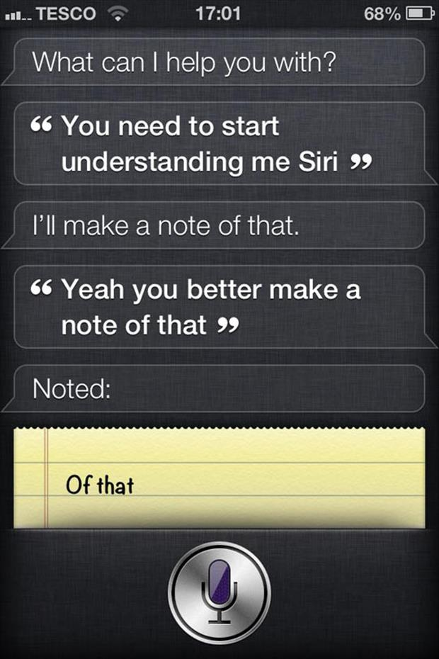 siri funny quotes