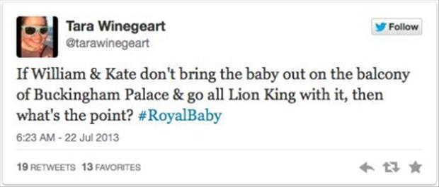 twitter quotes about the royal baby prince, dumpaday (3)