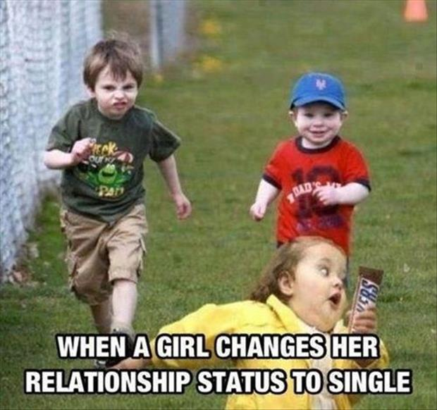 when a woman is single