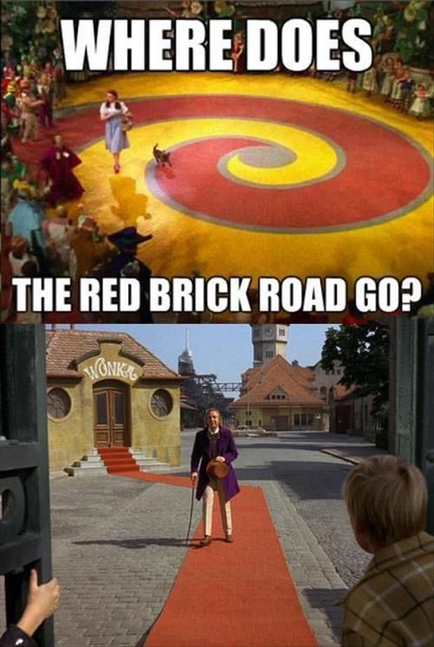 where does the red brick go
