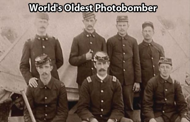 world's oldest photobomber