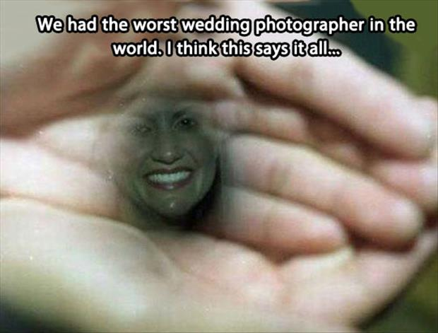 worst wedding photographer in the world