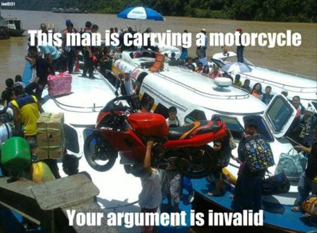 your argument is invalid meme, dumpaday (17)