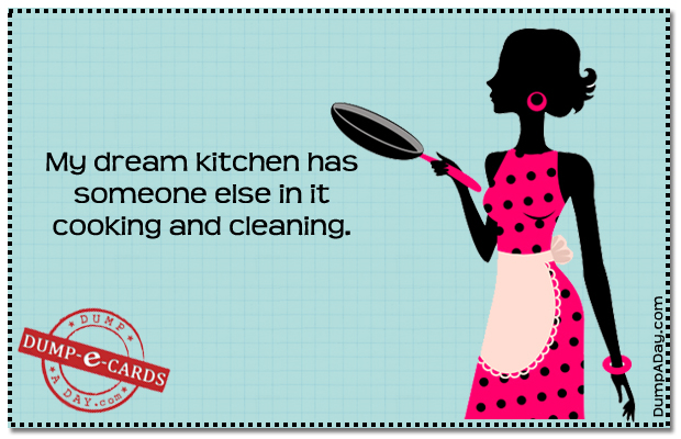 Dream kitchen Dump E-card