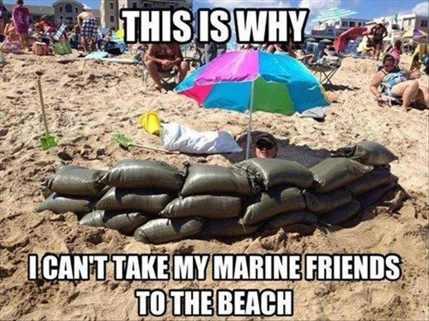 Funny marines