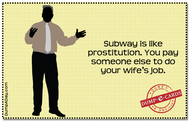 Subway Dump E-card