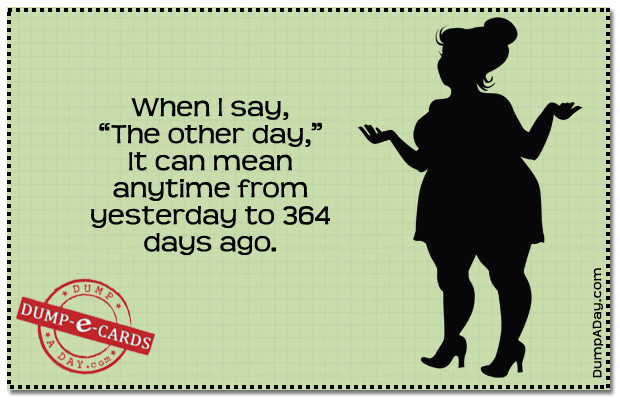 The Other Day Dump E-card