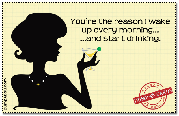 You Are the reason Dump E-card