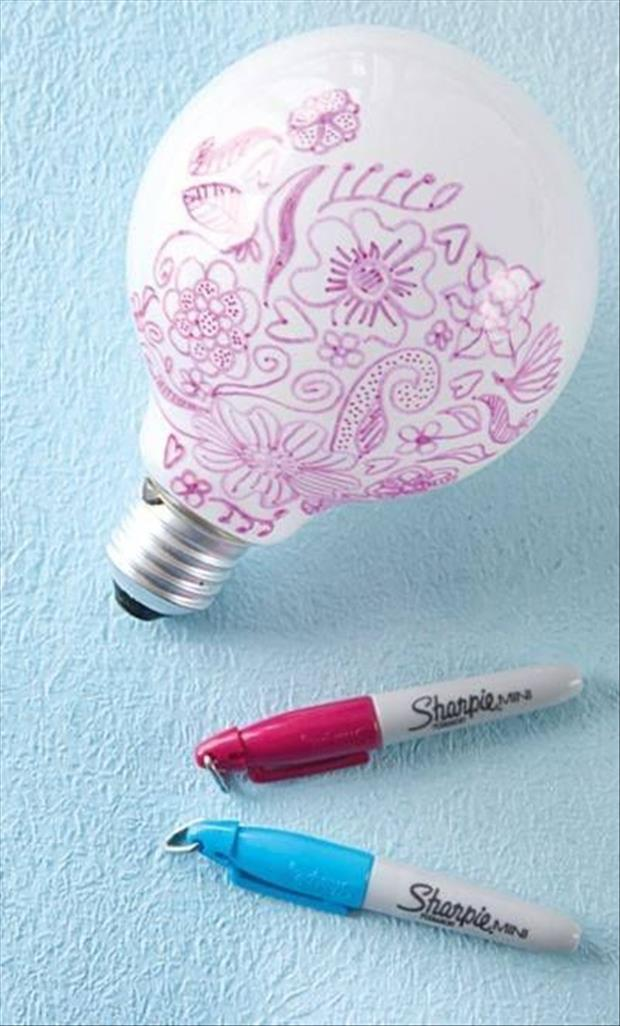 a light bulb craft ideas